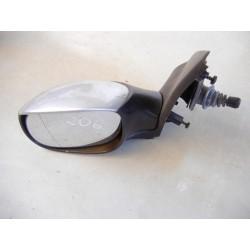 Espelho Retrovisor Esquerdo Peugeot 206 Cinzento